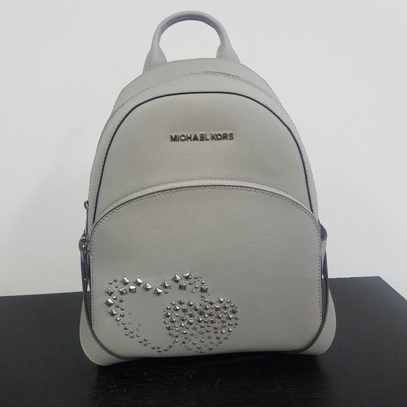Michael Kors Bags   Medium Abbey Heart Studded Backpack   Poshmark 6e55bad346